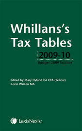 Whillans's Tax Tables by Mary Hyland image