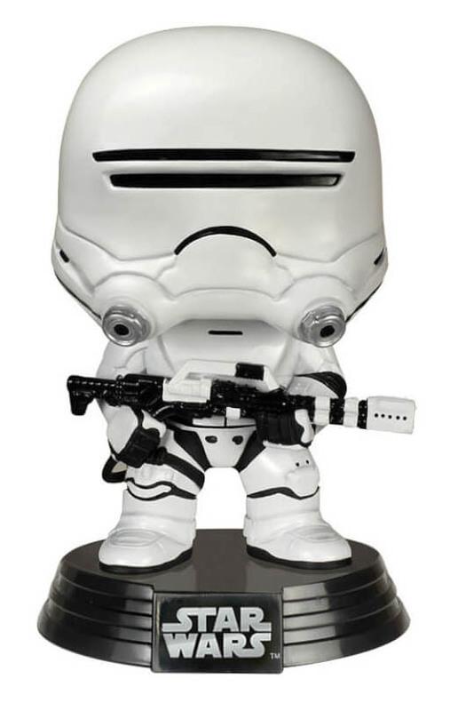 Star Wars: The Last Jedi - First Order Flametrooper Pop! Vinyl Figure