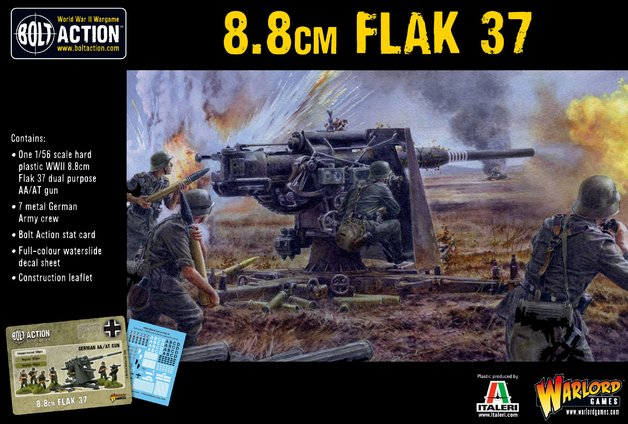 Bolt Action: German Flak 37 8.8cm