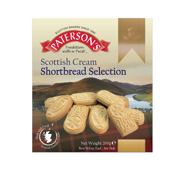Patersons Scottish Cream Shortbread Selection 200g