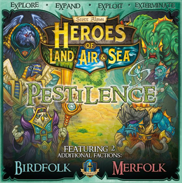Heroes of Land, Air & Sea - Pestilence Expansion