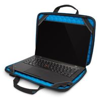 """Targus: Education Dome Protection 11.6"""" Work-In Clamshell Laptop Bag (Black/Grey)"""