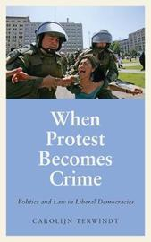 When Protest Becomes Crime by Carolijn Terwindt