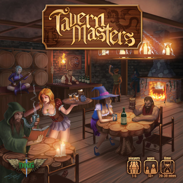 Tavern Masters - Card Game