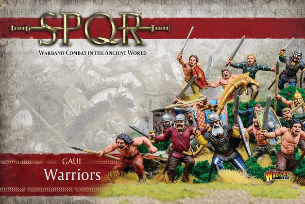 SPQR: Gaul Warriors