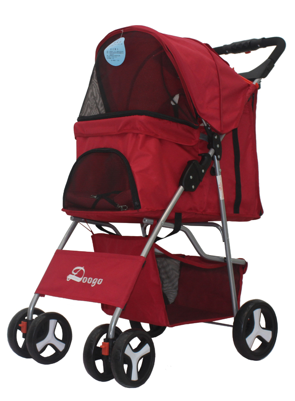 Easy Walk Pet Stroller - Red