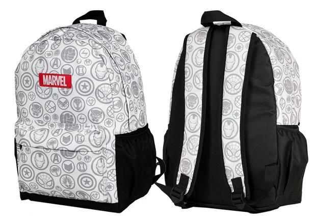 Avengers Backpack B&W