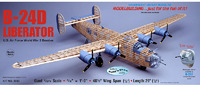 B-24D Liberator 1:28 Balsa Model Kit