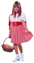 Red Riding Hood Girls Costume - (Medium)