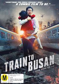 Train to Busan on DVD
