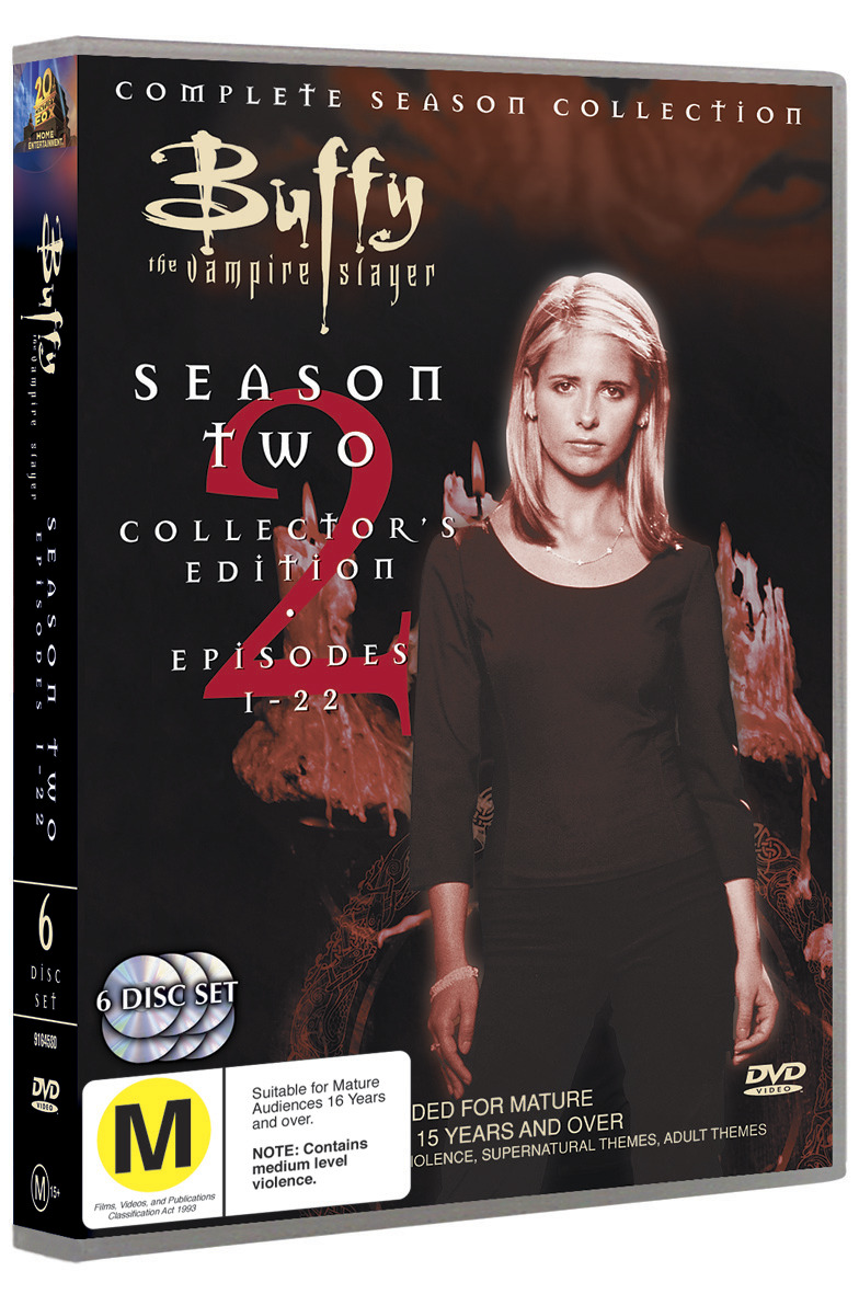Buffy - The Vampire Slayer: Season 2 (6 Disc Set) on DVD image