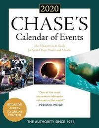 Chase's Calendar of Events 2020 by Editors Of Chase's