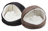 Pawise: Cat Igloo Bed - Gray