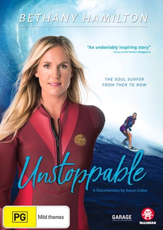 Bethany Hamilton: Unstoppable on DVD