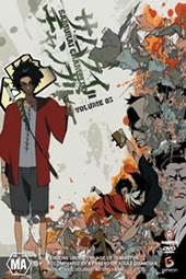 Samurai Champloo - Vol 3 on DVD