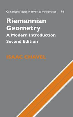 Riemannian Geometry by Isaac Chavel image