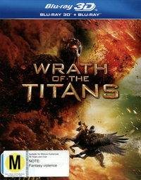 Wrath of the Titans on Blu-ray, 3D Blu-ray
