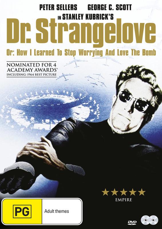 Dr. Strangelove - Special Edition on DVD
