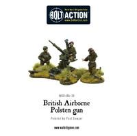 British Airborne - Polsten Gun