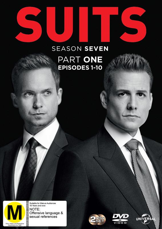 Suits - Season 7 (Part 1) on DVD