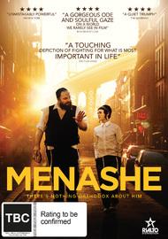 Menashe on DVD