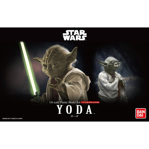 Star Wars 1/6 Yoda - Scale Model Kit