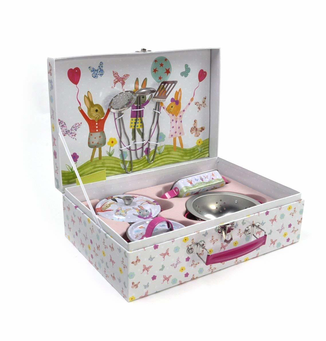 Floss Rock Tin Bunny Kitchen Set Images At Mighty Ape Nz