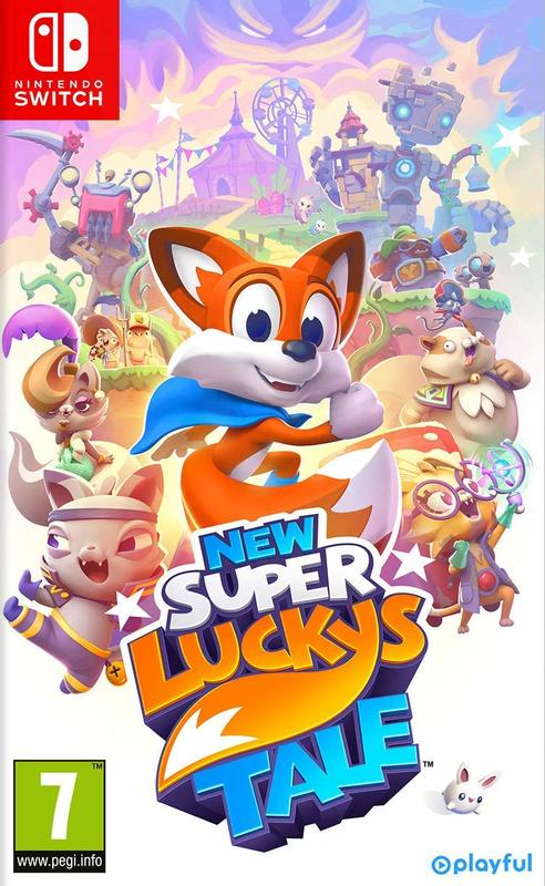 New Super Lucky's Tale for Switch
