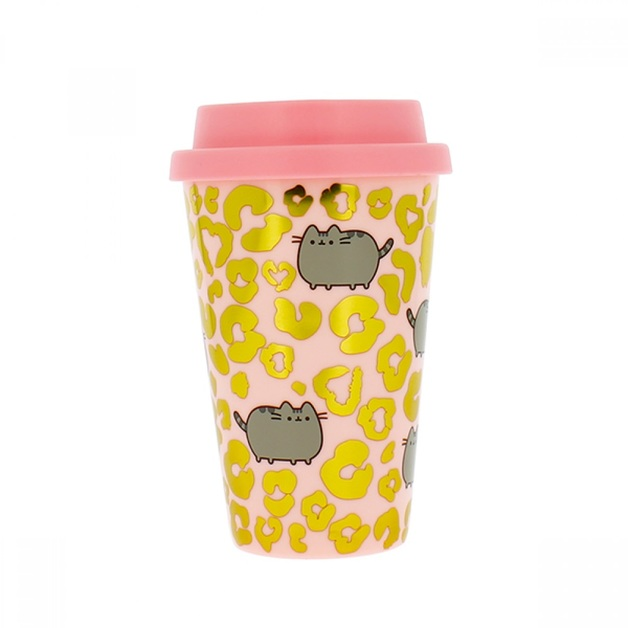 Pusheen Wild Side Plastic Travel Mug