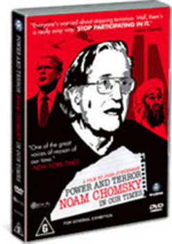 Power And Terror By Noam Chomsky on DVD