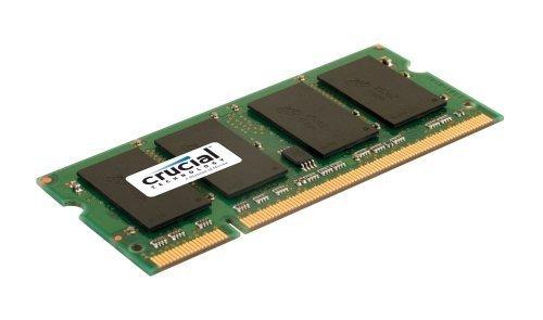 Crucial 1GB 200-pin SODIMM DDR2 PC2-6400 NON-ECC