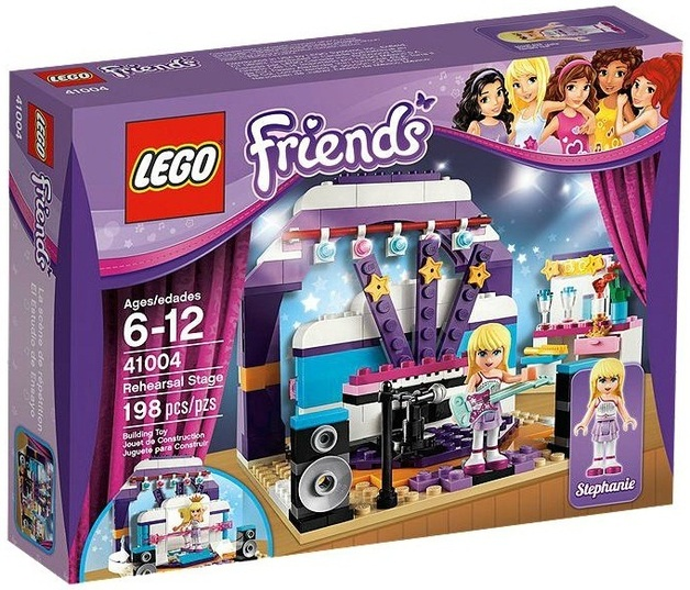 LEGO Friends - Rehearsal Stage (41004)