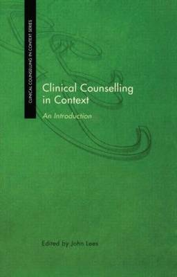 Clinical Counselling in Context image