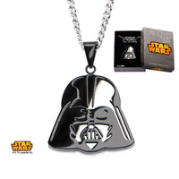 Star Wars Darth Vader Mirror Pedant Necklace image