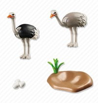 Playmobil: Zoo Theme - Ostriches with Nest (6646)