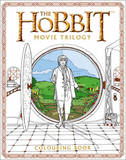 The Hobbit Movie Trilogy Colouring Book by Warner Brothers