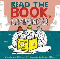 Read the Book, Lemmings! by Ame Dyckman image