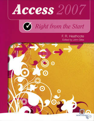 Right from the Start Access 2007 New Edition image
