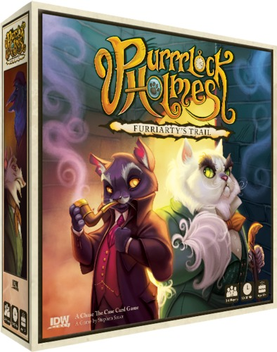 Purrrlock Holmes: Furriarty's Trail - Card Game image