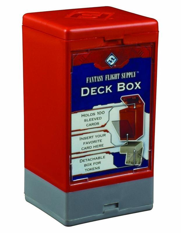 Fantasy Flight Supply: Deck Box (Red)