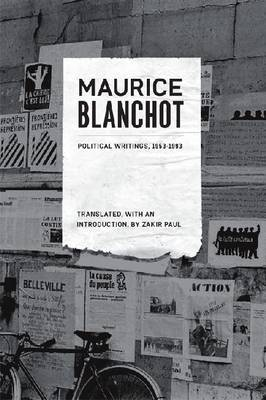 Political Writings, 1953-1993 by Maurice Blanchot image