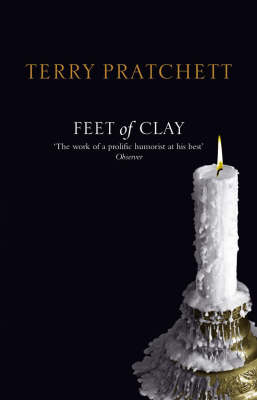 Feet of Clay (Discworld - City Watch) (black cover) by Terry Pratchett image