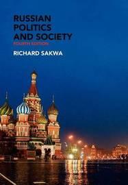 Russian Politics and Society by Richard Sakwa image