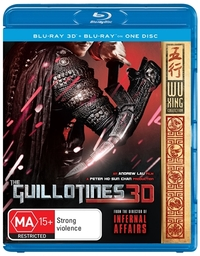 The Guillotines 3D on Blu-ray, 3D Blu-ray