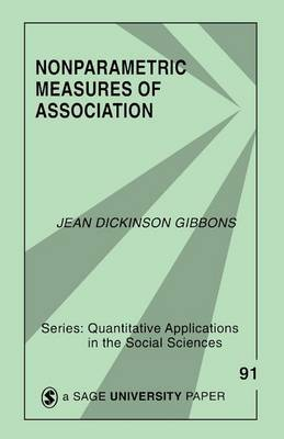 Nonparametric Measures of Association by Jean D. Gibbons image