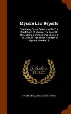 Mysore Law Reports image
