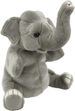 Antics: Plush Elephant Puppet