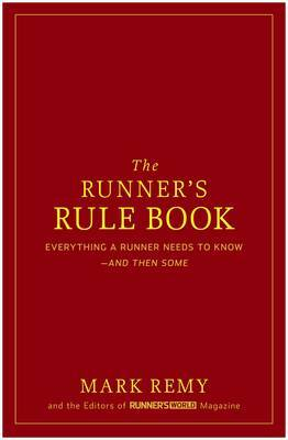 The Runner's Rule Book by Mark Remy image