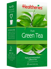 Healtheries Pure Green Tea (Pack of 20) image
