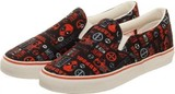 Marvel Deadpool Unisex Deck Shoes (Size 8)